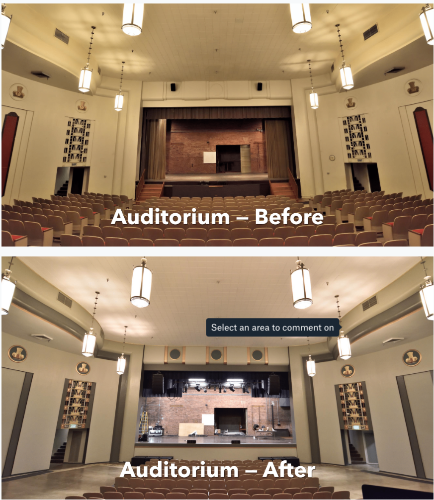 Auditorium renovation