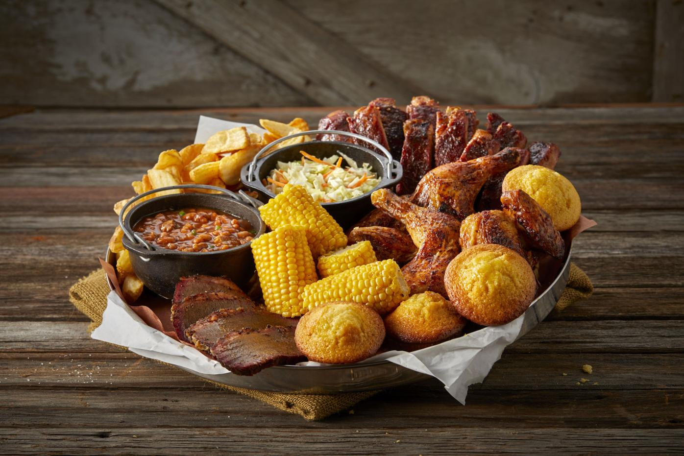 Famous Dave's BBQ's Feast