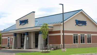 Exterior shot of Three Rivers (3Rivers Federal Credit Union) Decatur branch