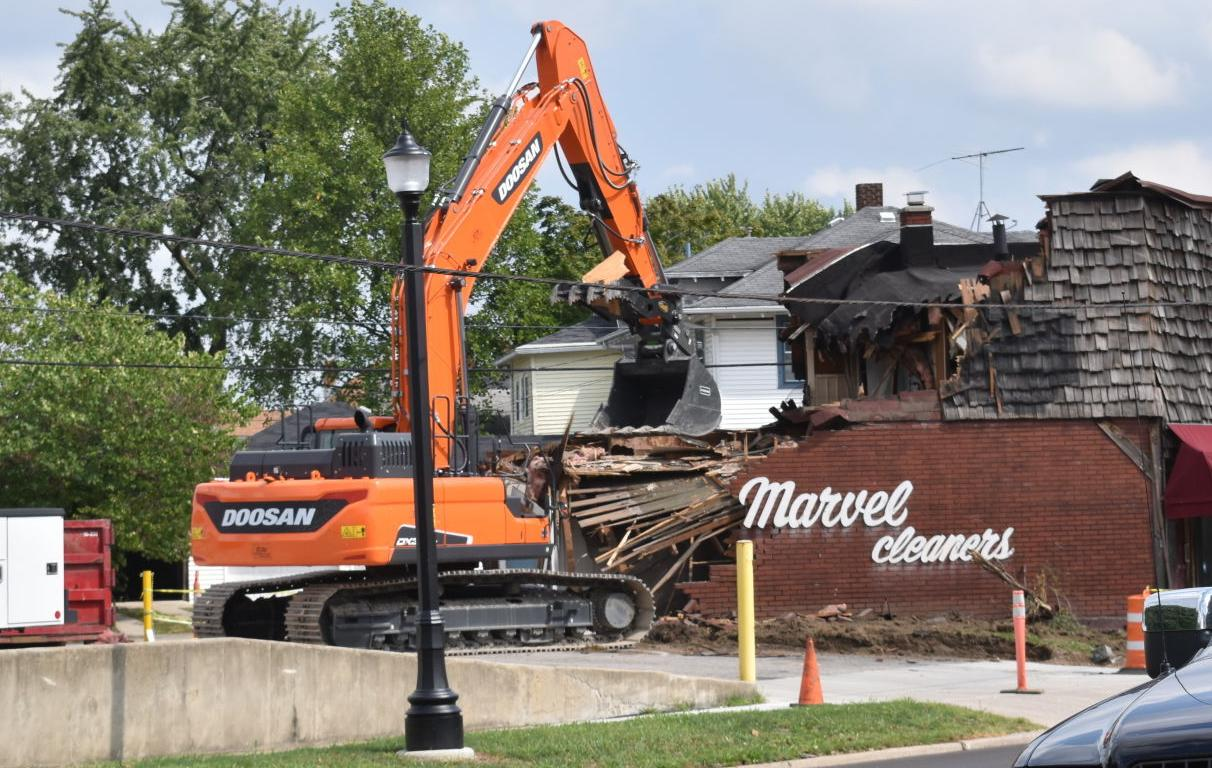 Marvel Cleaners gets torn down