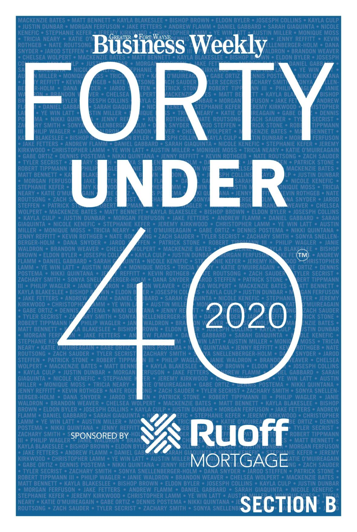 Forty Under 40 Class of 2020 e-edition