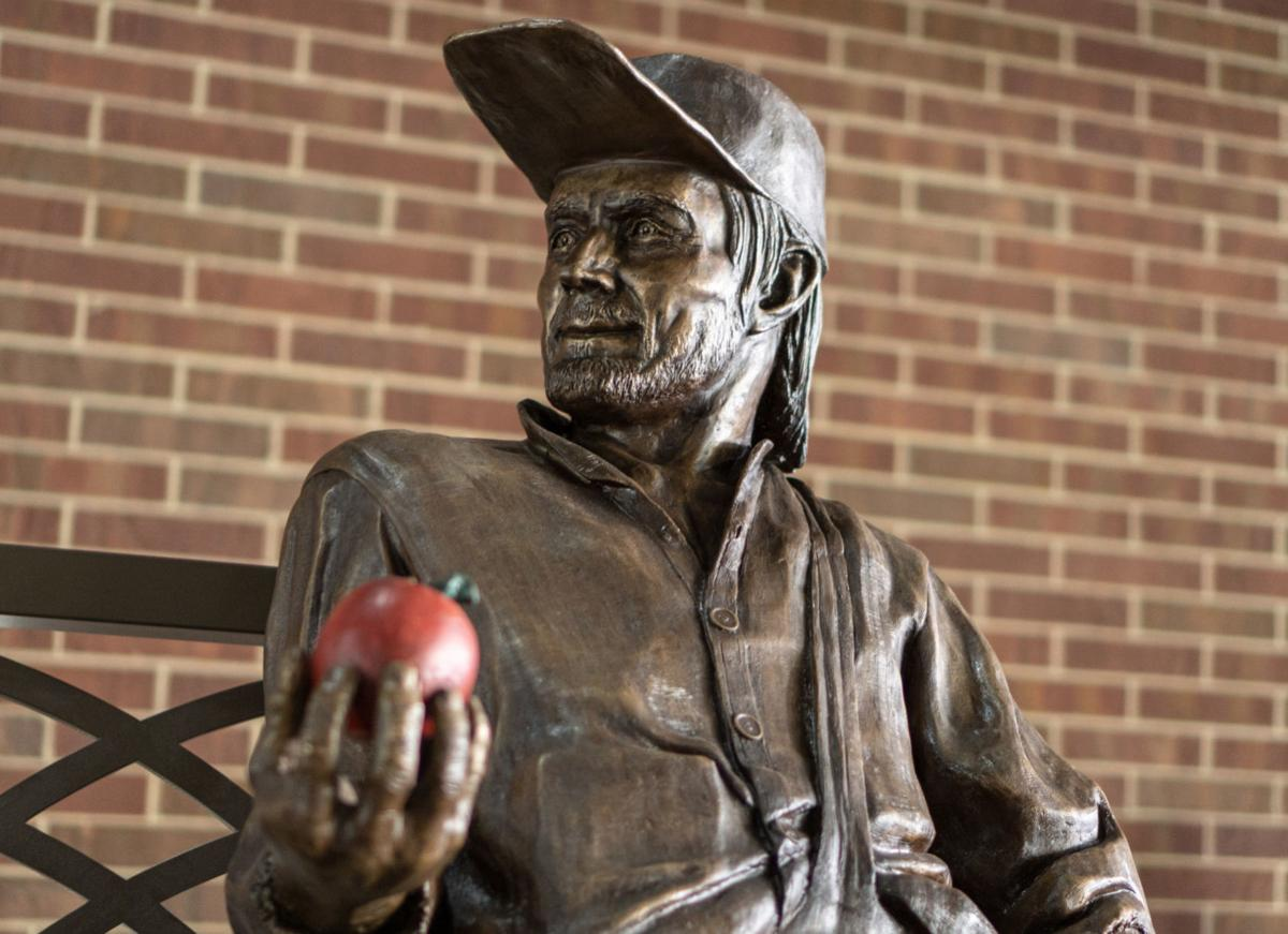 Johnny Appleseed statue