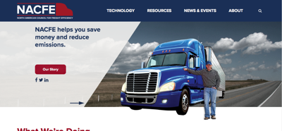 North American Council for Freight Efficiency website