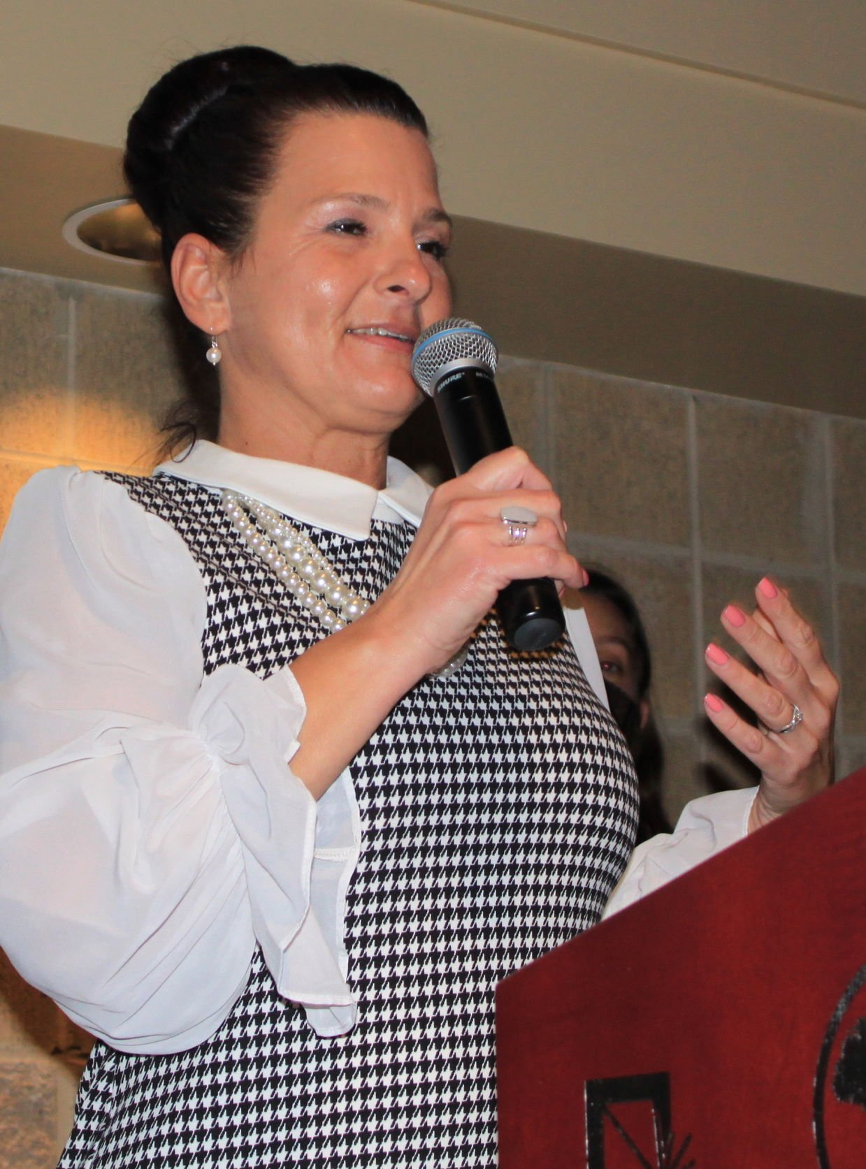 Hearten House Gospel Rescue Mission executive director Marisa McKenzie