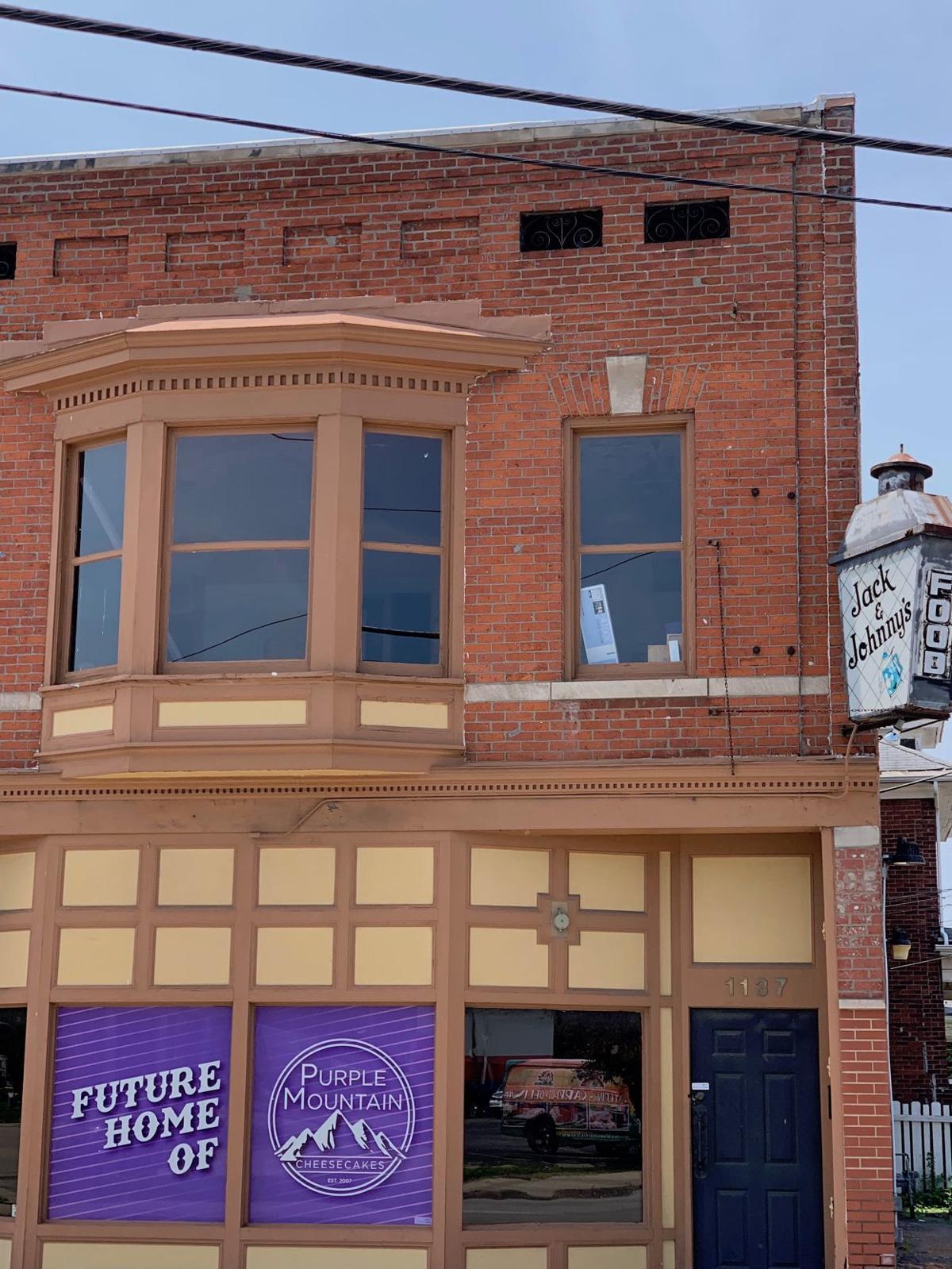 Purple Mountain Cheesecakes building