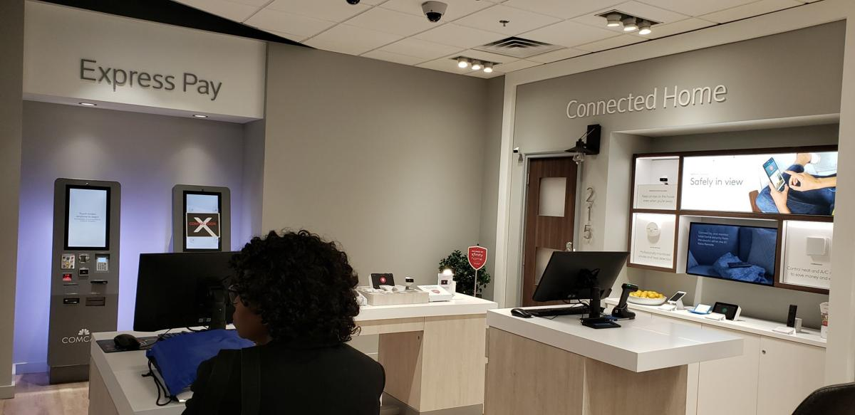 Xfinity store Comcast Corp. opened at Jefferson Pointe Shopping Center