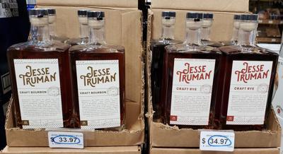 Jesse Truman whiskeys