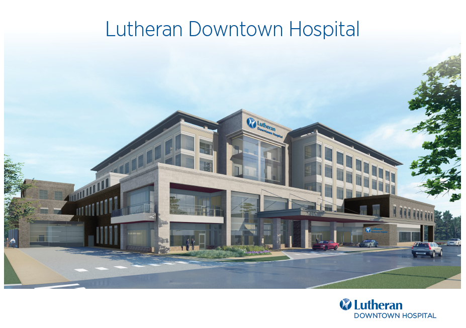 Lutheran Downtown Hospital rendering