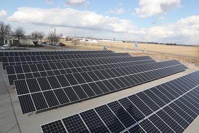 NIPSCO's solar array