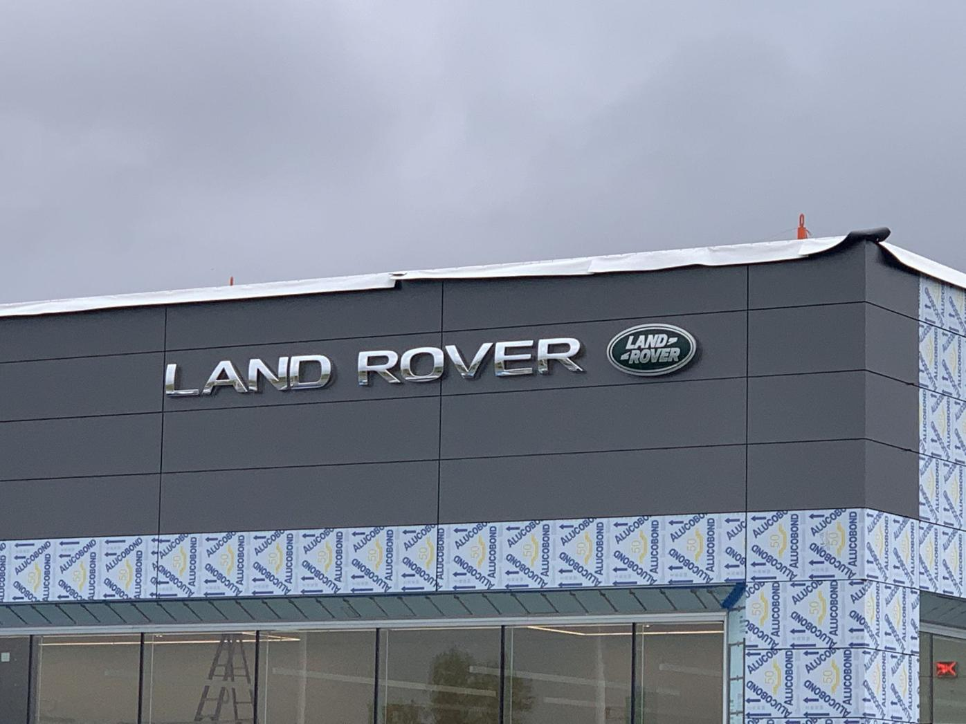 Land Rover side