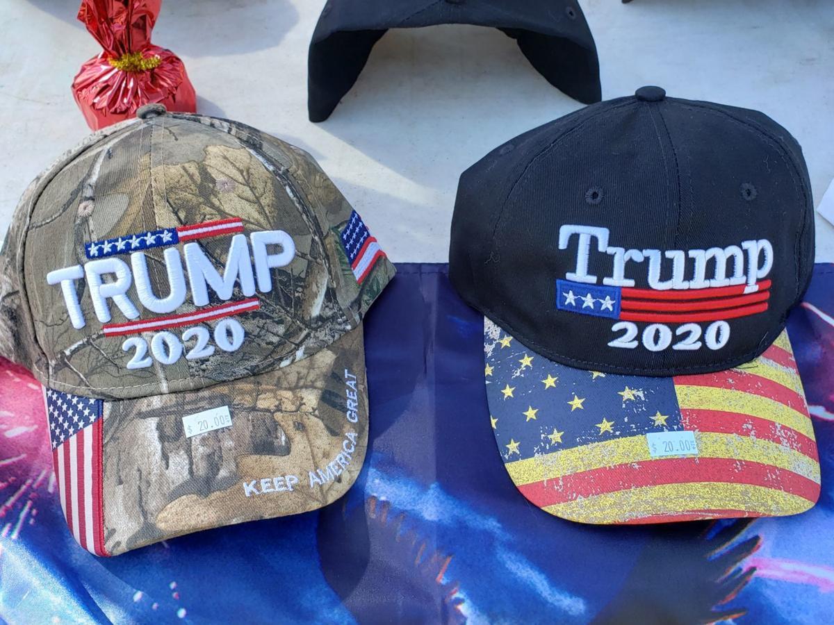 Hillegas Road vendor sells Trump merchandise