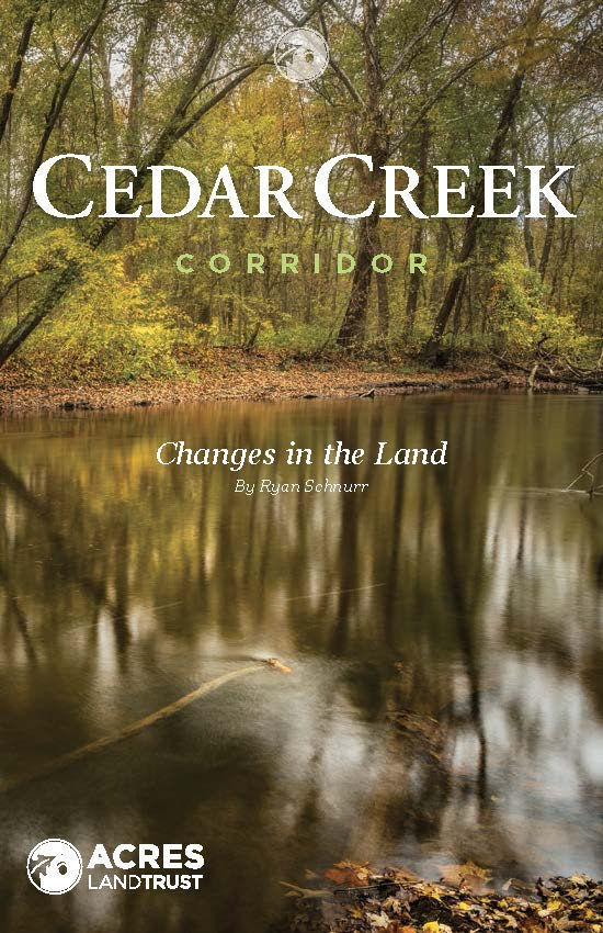 Cedar Creek Corridor booklet