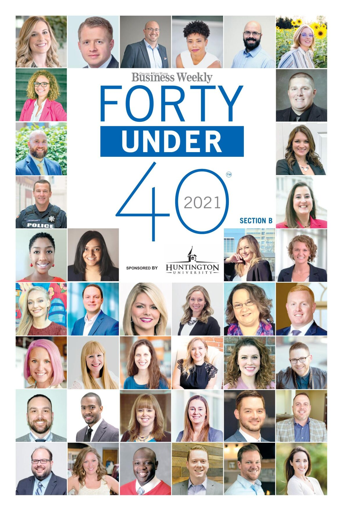 Forty Under 40 Class of 2021