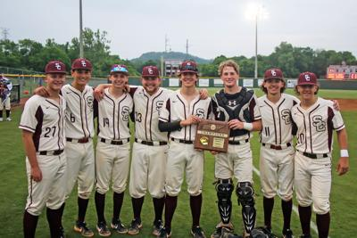 Station Camp baseball seniors 2019