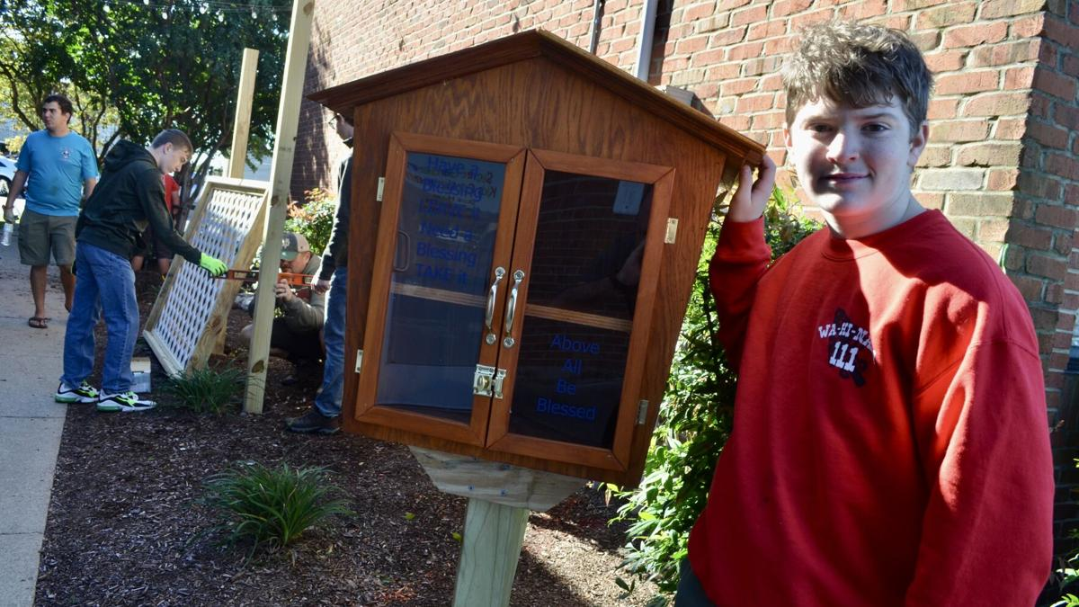 Eagle Scout project honors late Gallatin attorney with positive message