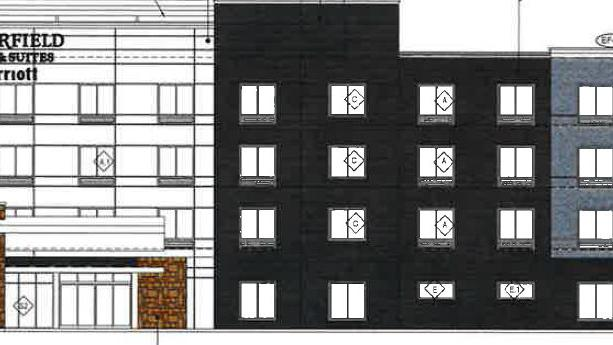 Four-story hotel planned on Browns Lane
