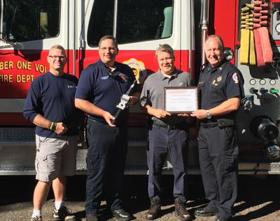 Number One Volunteer Fire Department receives grant | News