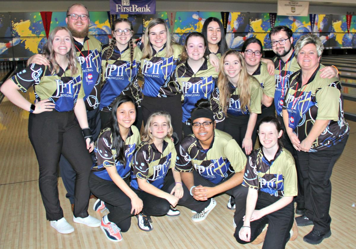 JPII girls bowling team finished in the semifinal round of the DII girls bowling championships last week.