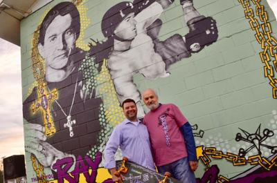 Gallatin artist honors Tennessee's first professional skateboarder