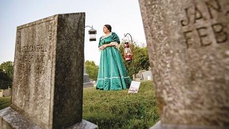 Cemetery tour highlights women's suffrage movement