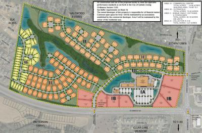 Windsong will include 456 new housing units, a grocery store and other commercial properties on 126 acres at the corner of South Water Avenue and State Route 109 in Gallatin. SUBMITTED