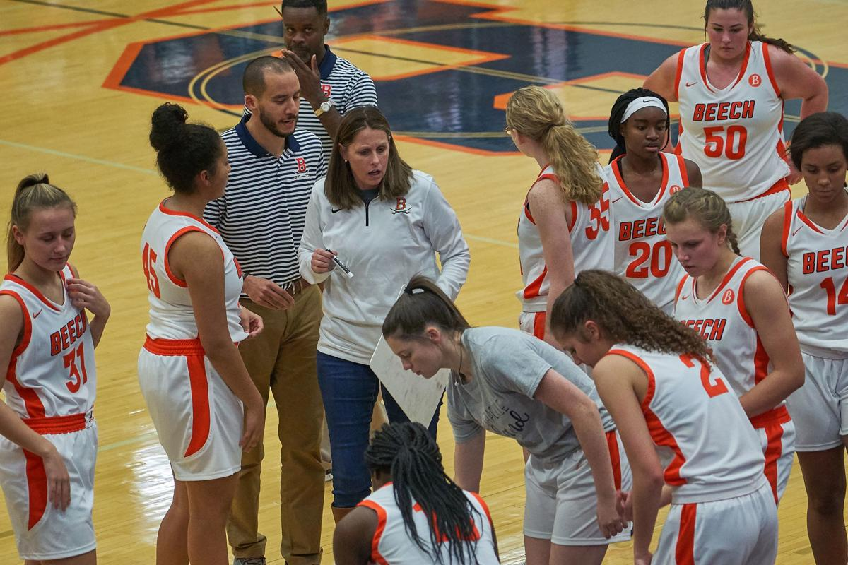 Kristi Utley and her Beech Lady Bucs will play Lebanon on Monday at 6:30 p.m. for the District 9-AAA tournament championship.