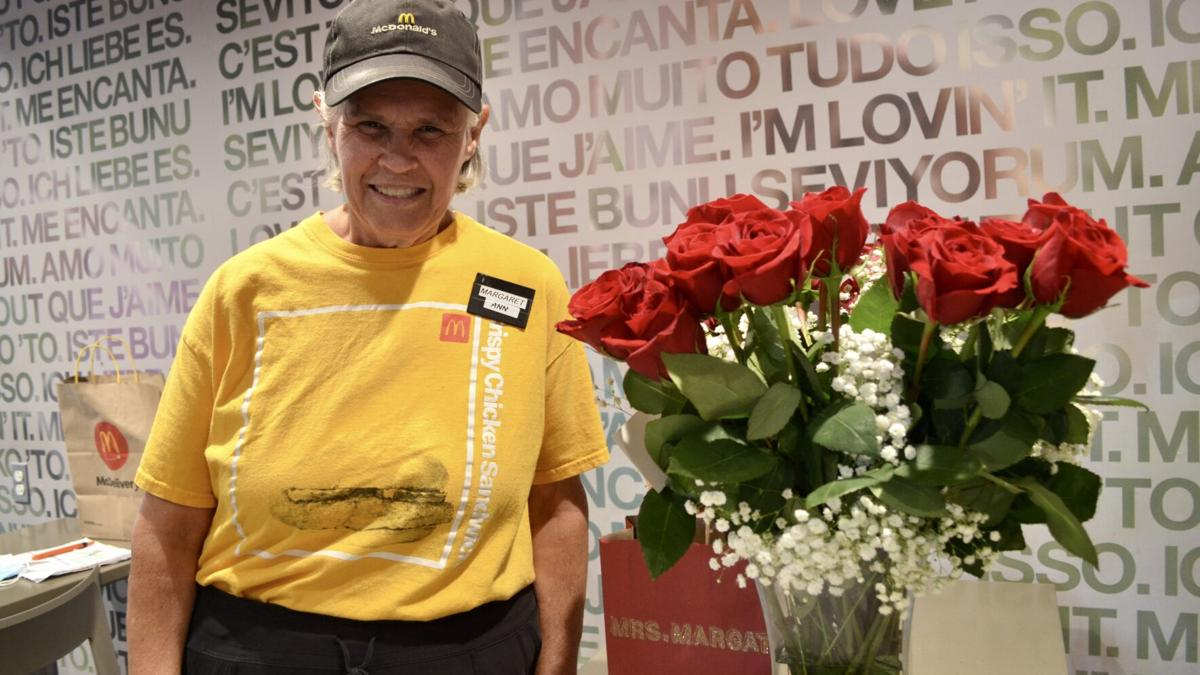 Longtime McDonald's employee retires after 24 years
