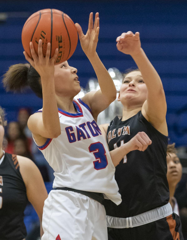 Dickinson vs Alvin Girls Basketball