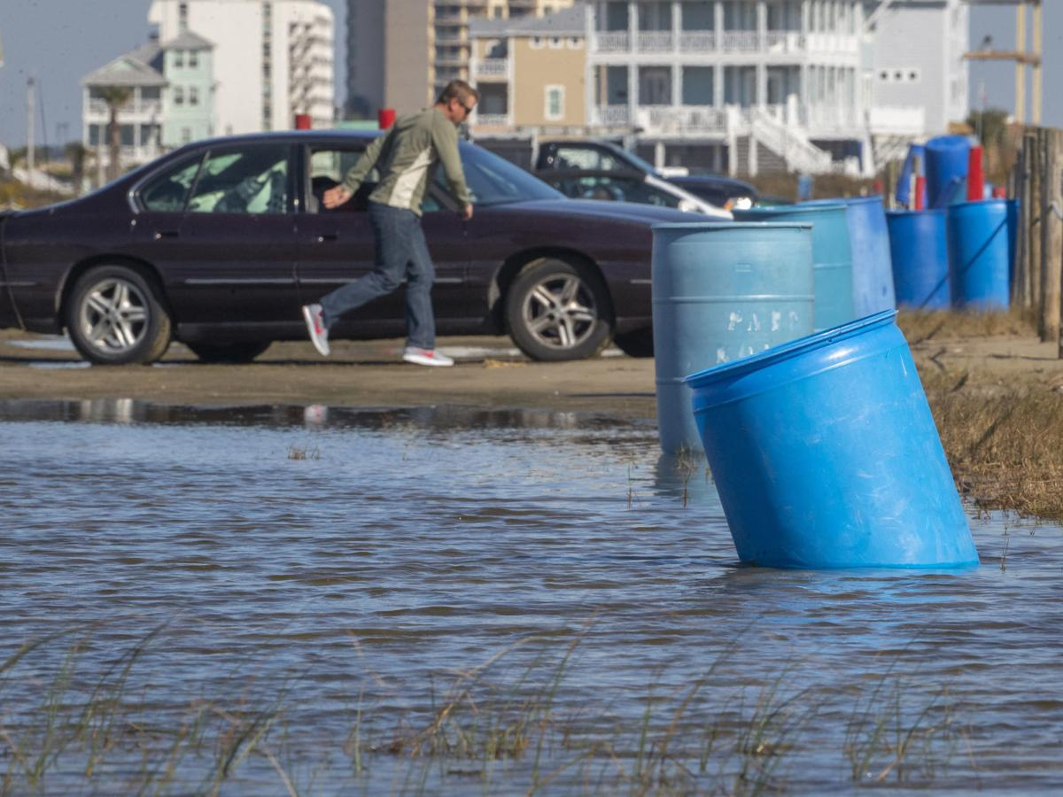 Drainage work to ease Stewart Beach flooding issues