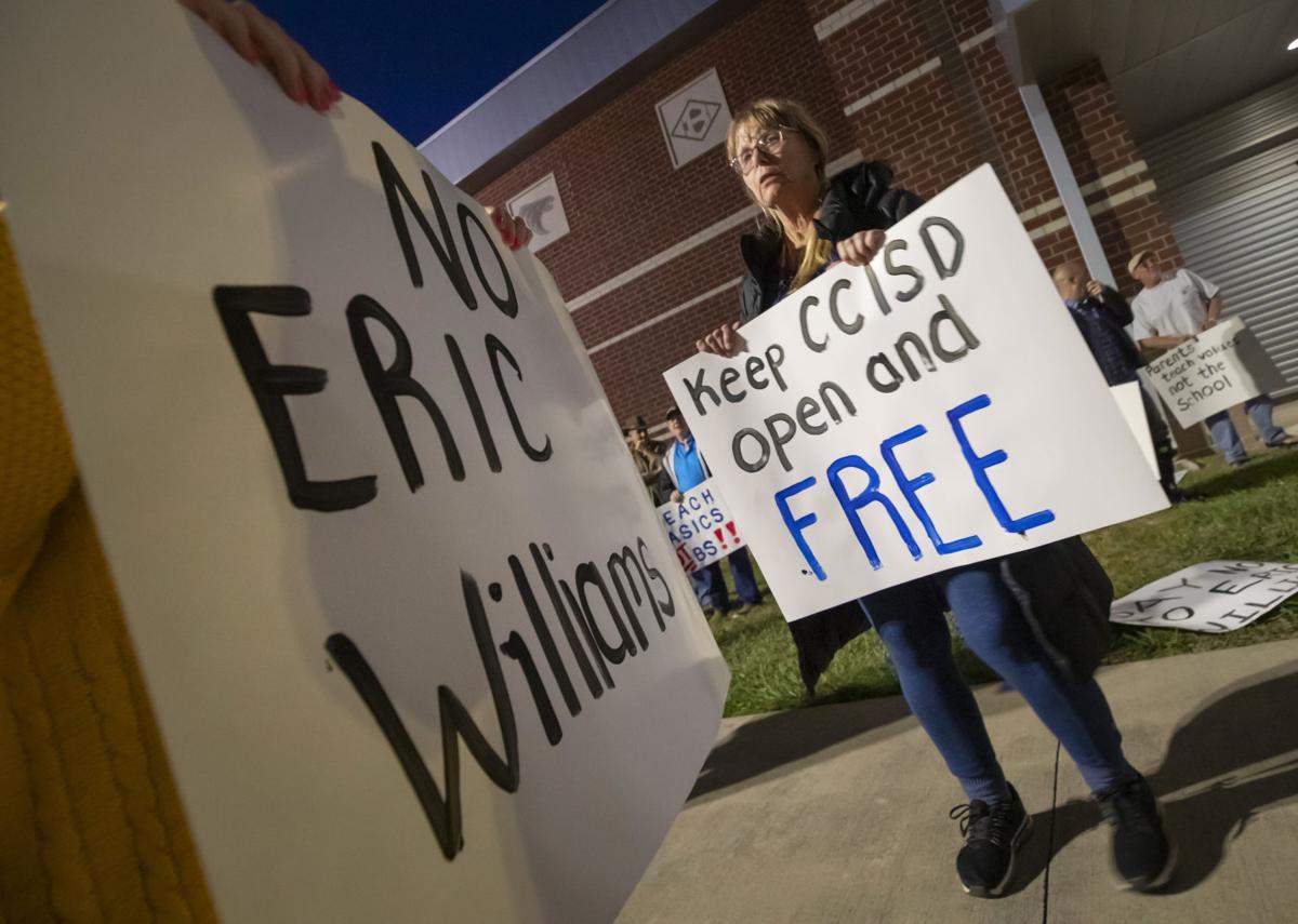 CCISD Protest