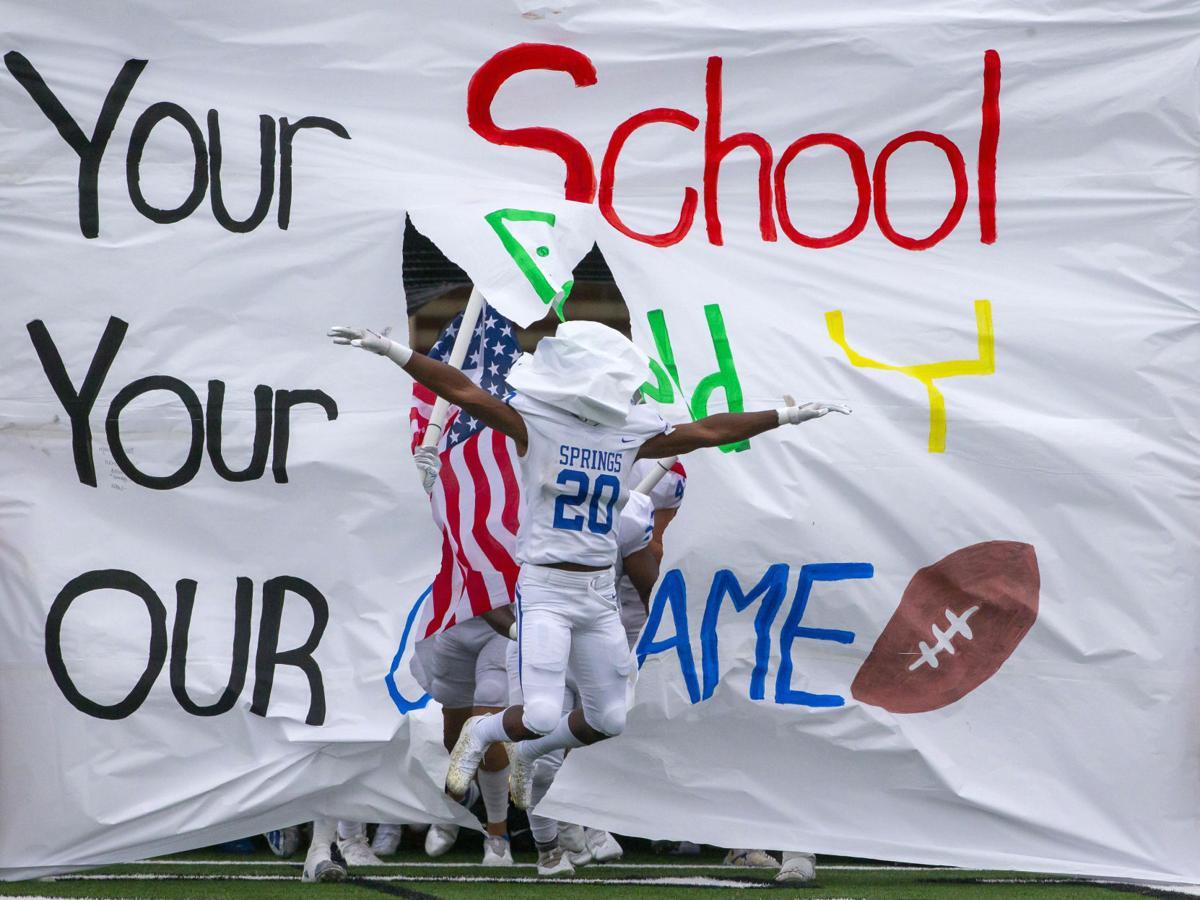 Clear Springs vs Clear Lake High School Football