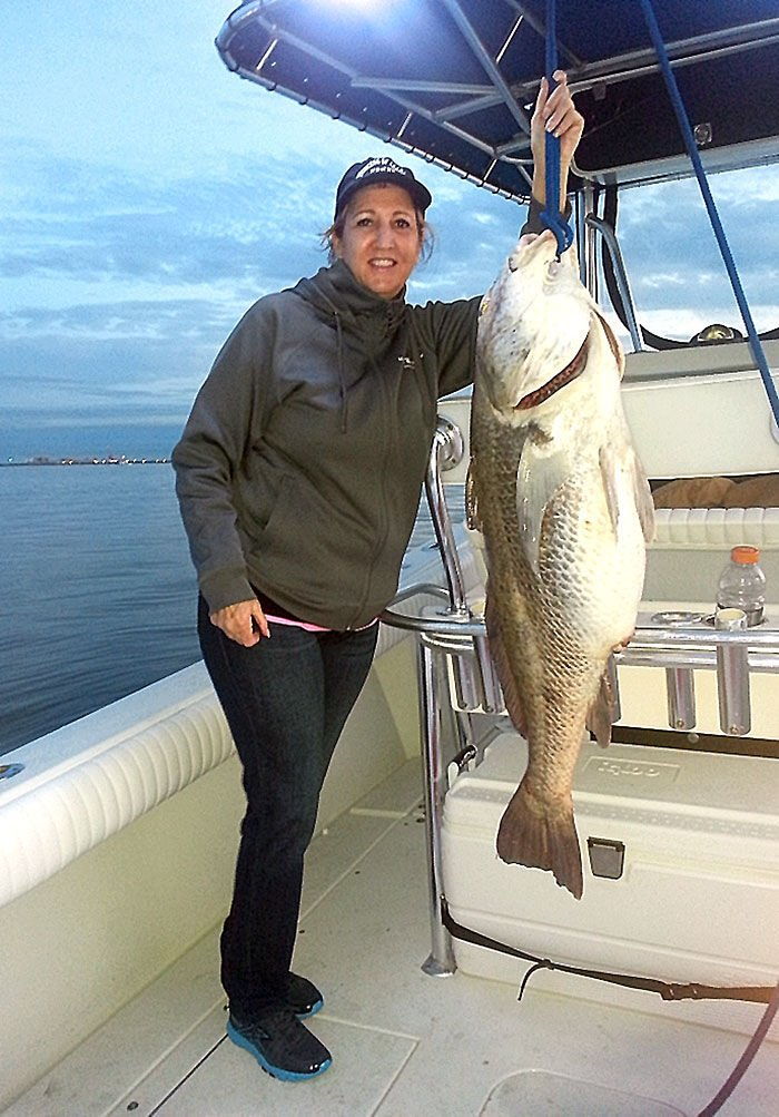 A few bright spots amidst poor weather fishing report for Texas city dike fishing