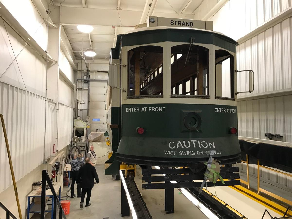 Galveston Island Trolley Repairs