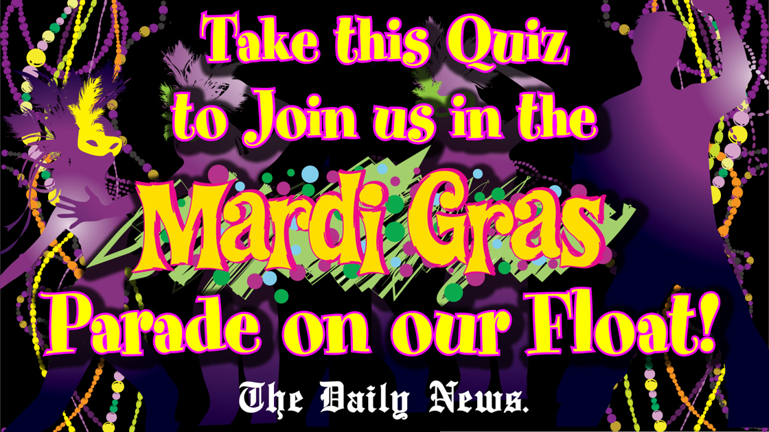 Mardi Gras History Quiz
