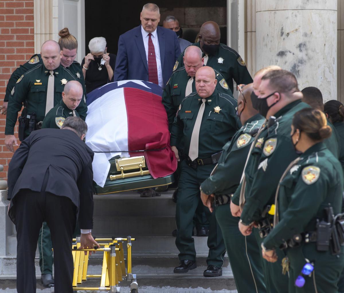 Galveston County Deputy Funeral