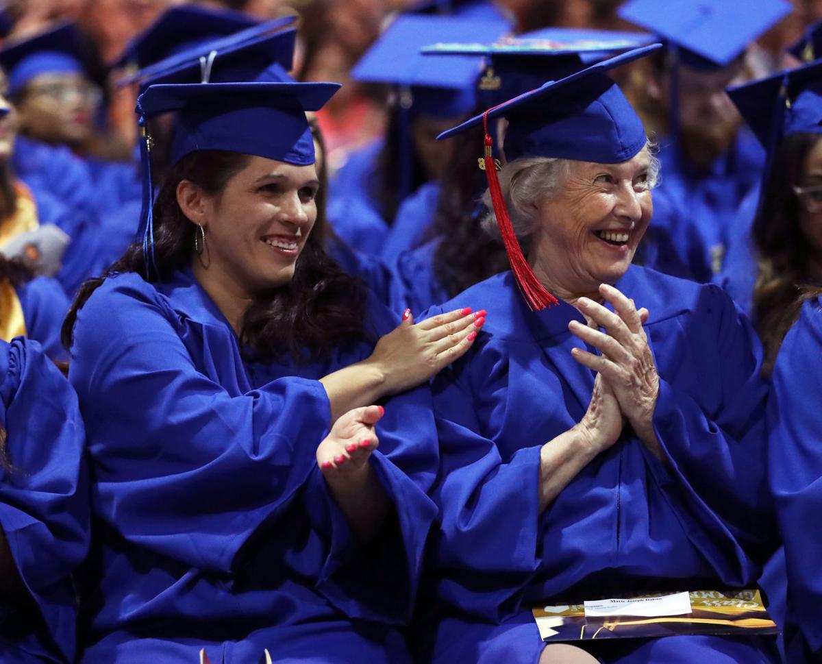 Galveston College graduation