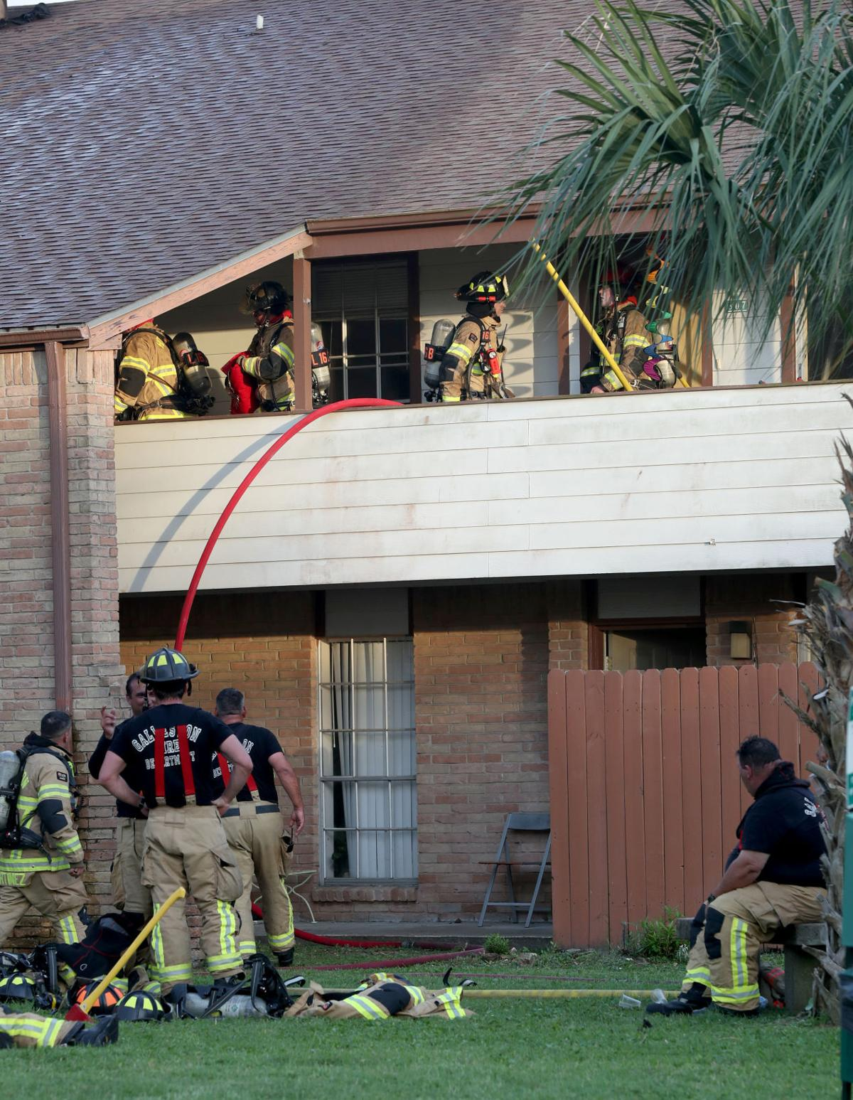 Apartment fire on Ferry Road