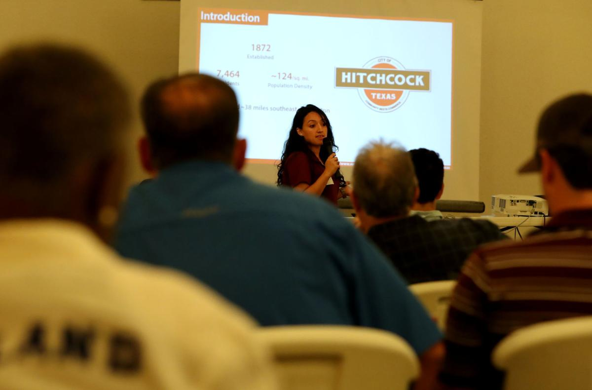 Hitchcock residents meet with Texas Target Communites