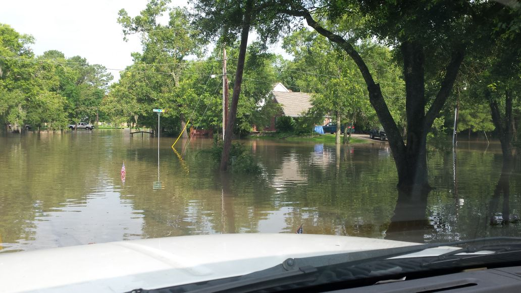 Galveston County Mostly Spared Overnight Flooding Free