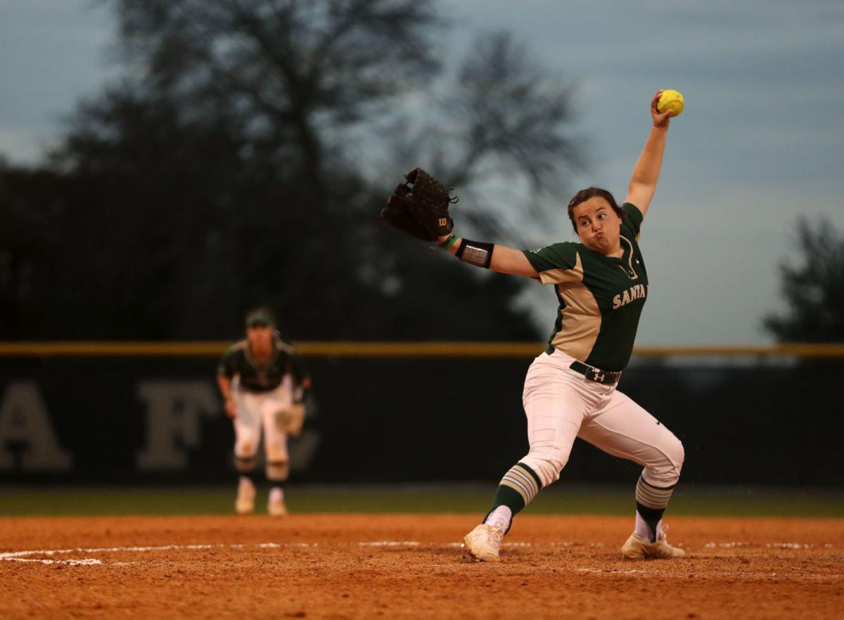 Santa Fe vs. Crosby softball