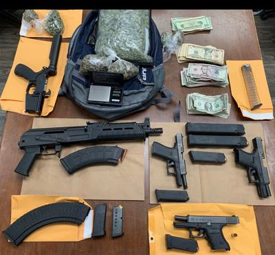Items found while executing a search warrant