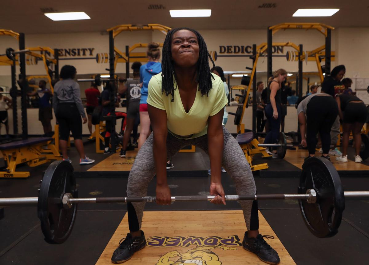 Ball High powerlifting