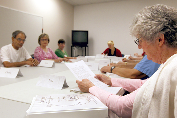 Lifelong learners at OLLI say it's fun to get memories on paper