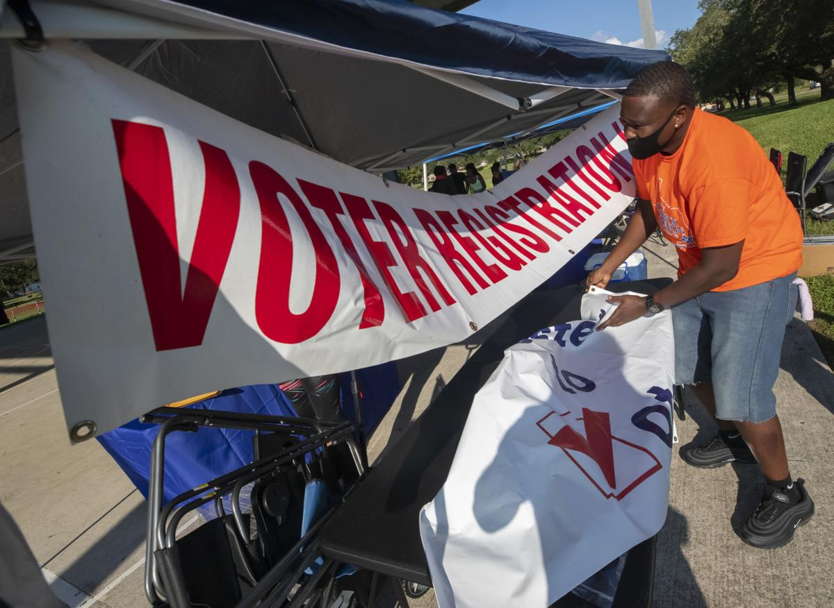 Texas City Voter Registration Drive