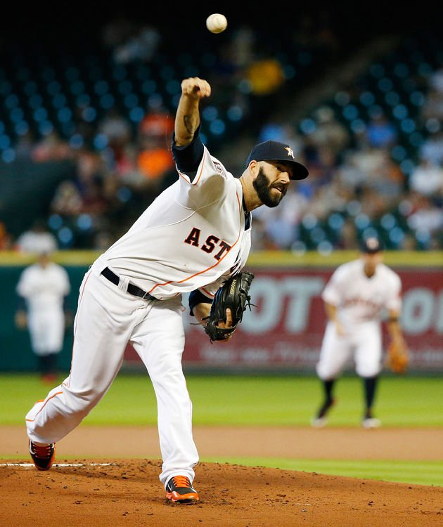 Mike Fiers Vs Houston: Photos: Astros Vs. Angels