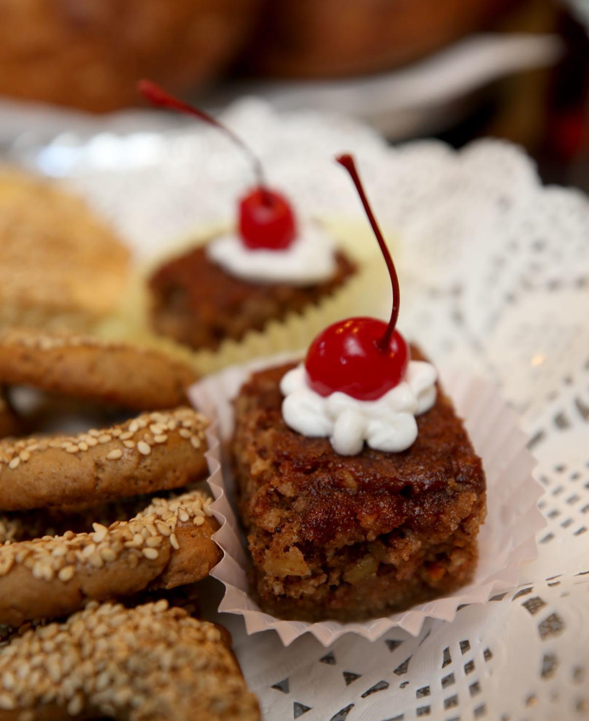 Greek Festival cookies