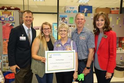 Clear Creek ISD Education Foundation awards grant