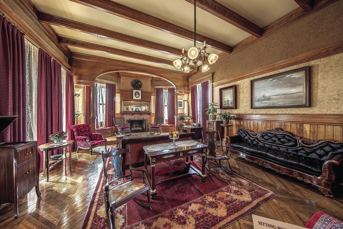Moody Mansion family room