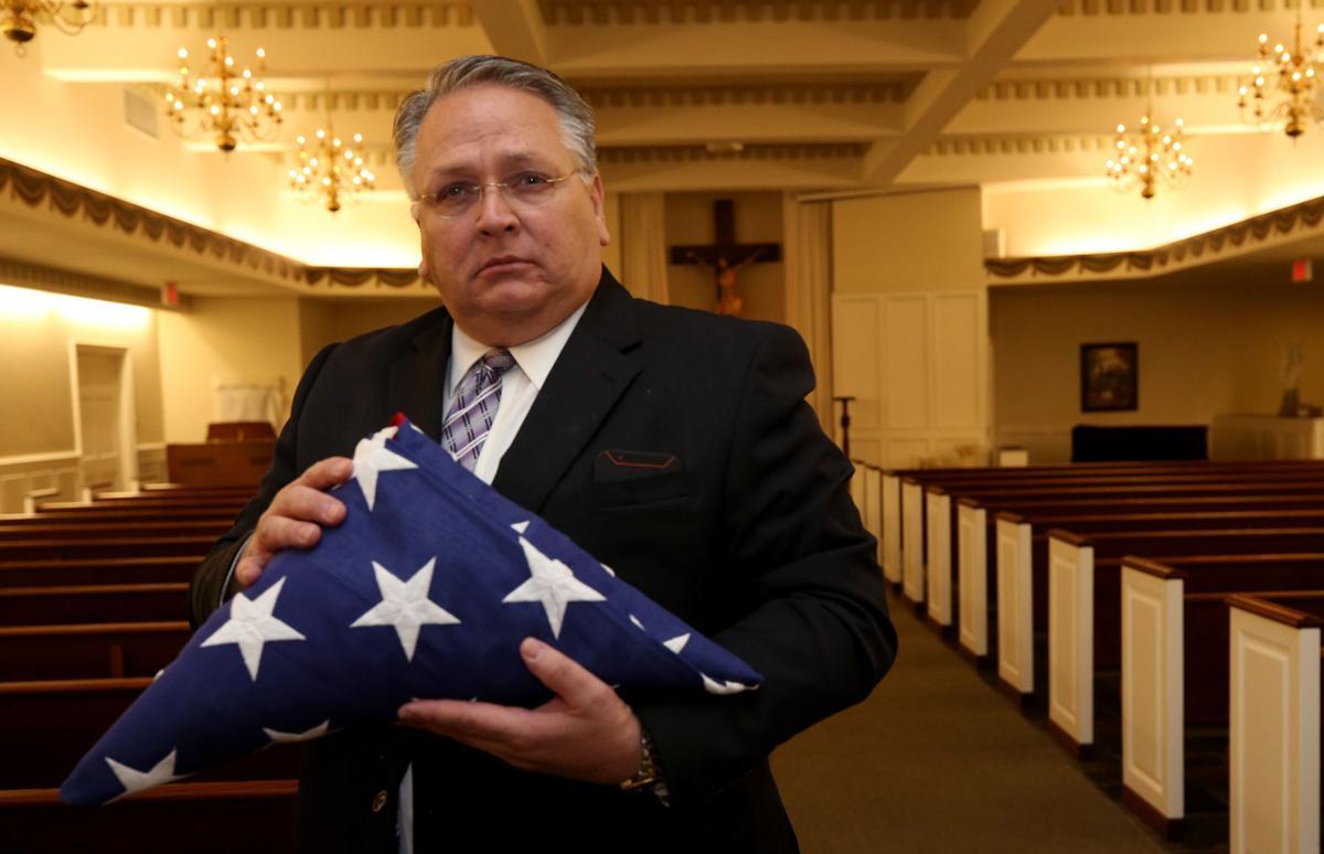 Flags for veterans funerals