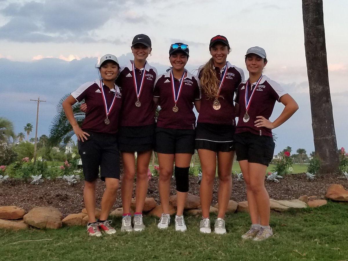 Creek girls golf